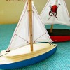 Handmade Wooden Boats for the Holidays