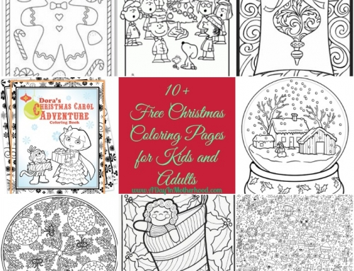 Free Christmas Coloring pages for Kids and Adults