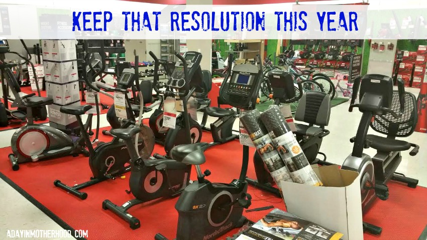 Keep Your New Year's Resolutions with Sears + WIN a $100 Sears Gift Card #2016resolutions ad #SearsBloggerSquad