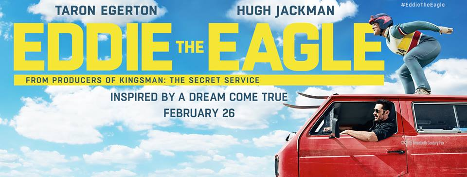 Eddie the Eagle $25 Gift Card Giveaway #EddieTheEagle #FlyLikeEddie