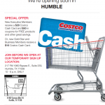 Get Essentials at Costco and a New One is Opening in Humble, TX