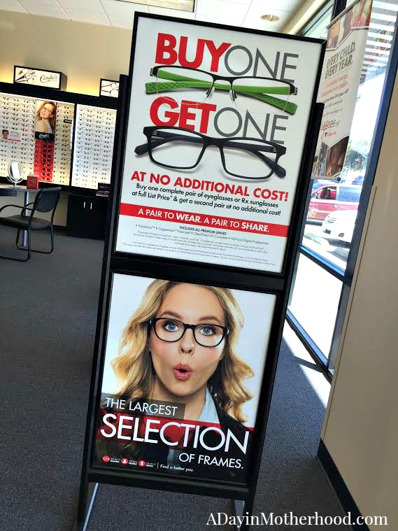 Getting Glassed at Visionworks was So Easy + Let's Go See Gives Free Eye Exams to Kids + WIN a $100 Visionworks Gift Card ad