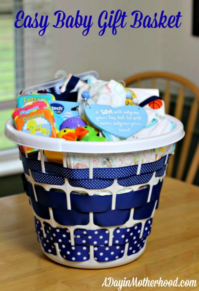 easy and cute baby gift basket snughugs ad huggies