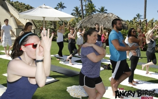Getting My 'Anger Management' Under Control with Oceanside Yoga in Maui