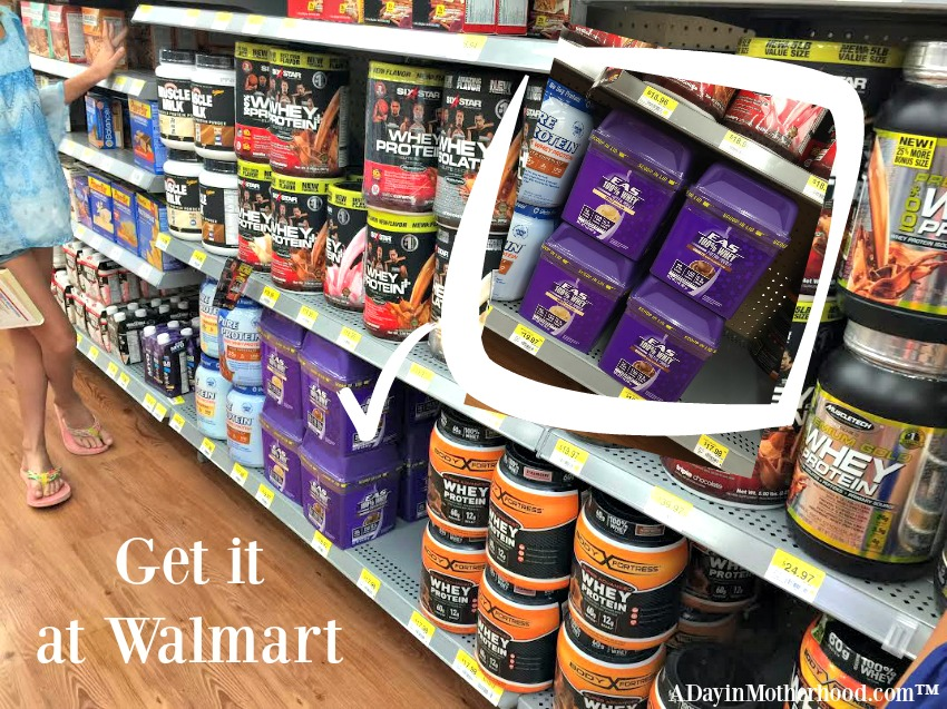 Get EAS 100% Whey Protein Powder at Walmart in the 2lb containers! #easbrand #PowerinProtein #collectivebias @Walmart