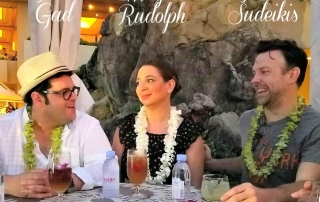 I interviewd Josh Gad, Maya Rudolph and Jason Sudeikis in Hawaii and it was the best 15 minutes ever!