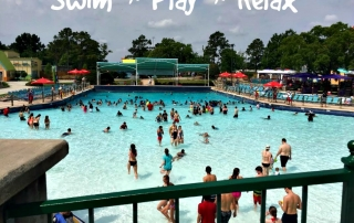 If you want to relax, enjoy the wave pool! But when you hear the whistle, get ready to ride the waves! #wnwsplashtownbound