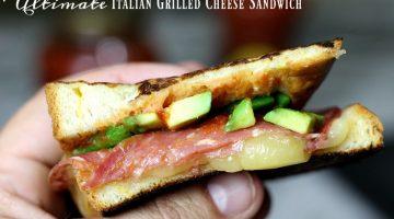 Ultimate Italian Grilled Cheese Sandwich Recipe