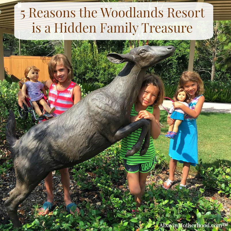 Take the whole family to the Woodlands Resort in Woodlands, TX for family fun! #WoodlandsResort ad