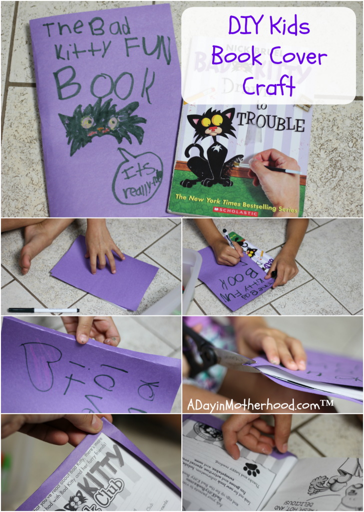 Diy Book Cover For Paperback : Diy book cover craft for kids get free books