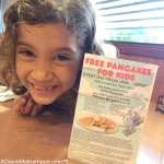 FREE Pancakes for Kids at Denny's + Easily Donate to No Kid Hungry