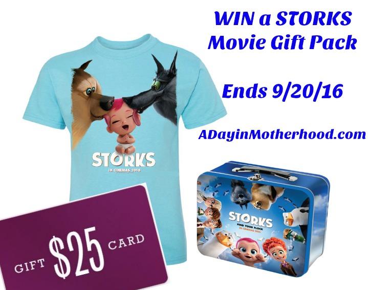 STORKS Movie Prize pack #STORKS ad