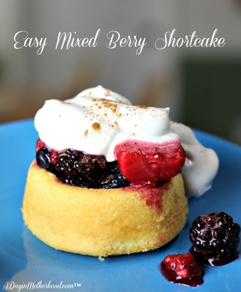 Mixed Berry Shortcake Recipe post is sponsored by Welch's® Frozen ...