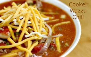 Slow Cooker Wazzu Chili is a real crowd pleaser!