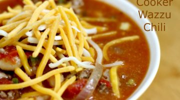 Slow Cooker Wazzu Chili Recipe