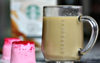 Pair DIY Bath Bombs with Starbucks Caffee Latte K-Cup Pods and relax in luxury at home