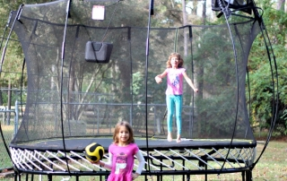 Springfree Trampolines make safety first and is why I don't fear owning a trampoline