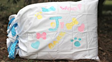 How to Make an Easy DIY Dog Pillow to Welcome an Adopted Pup – Joy's Story