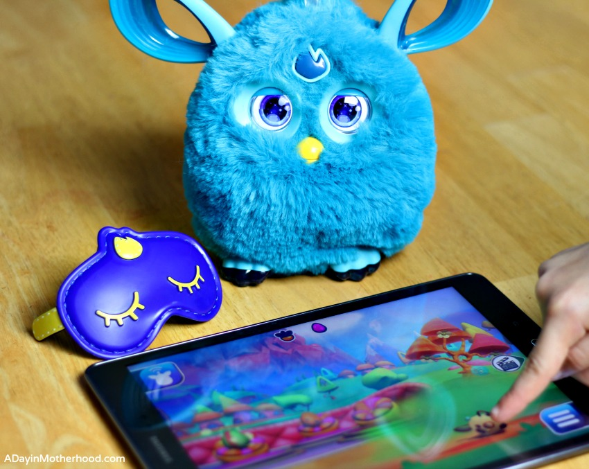 how to connect furby to app