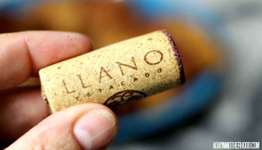 The Easiest Bacon Appetizer is enhanced by Llano Wine
