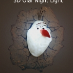 3DLIGHTFX Olaf 3D Night Light that Kids Love