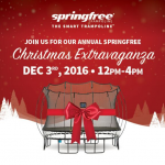 HOUSTON: FREE Springfree Trampoline Event December 3, 2016: You Could WIN a Springfree Trampoline