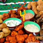 ad: Don't Miss the Big Game Kickoff Snack Tray & Three Homemade Dips