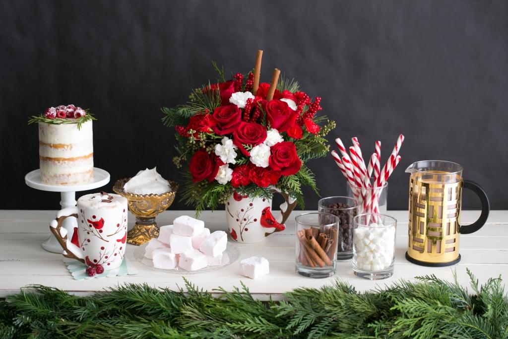 Make any home festive with a Teleflora bouquet!