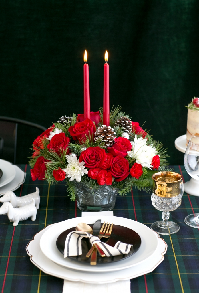 Teleflora adds color and freshness to your holiday table!