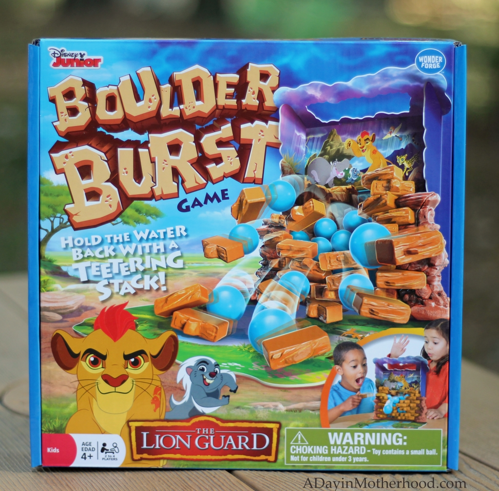 Boulder Burst is a fun game for smaller kids