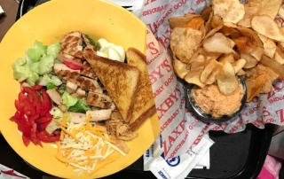 The food at Zaxby's are family favorites!