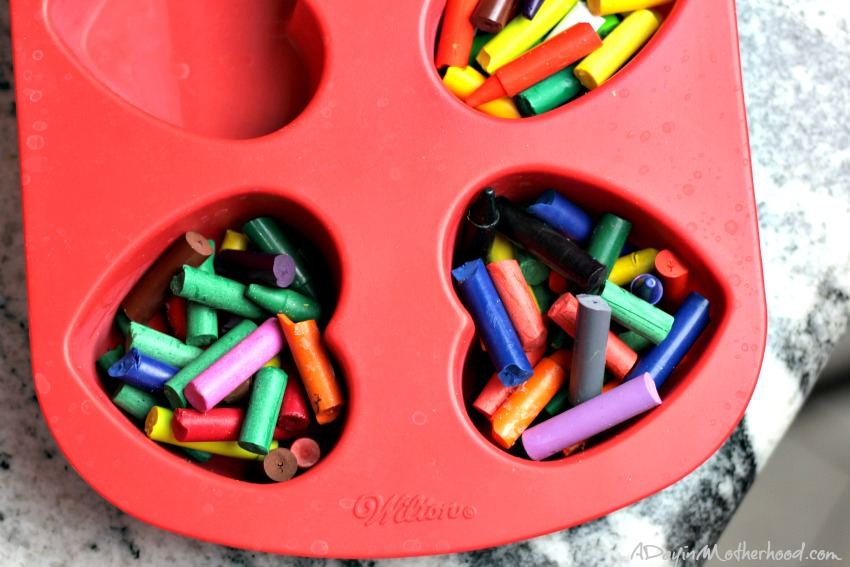 You can make these DIY Scented Heart Crayons quickly