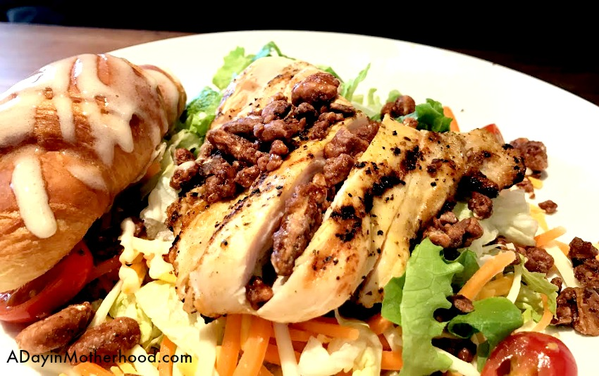 Stay on Track with Your Fresh Start Grilled Chicken Pecan Salad