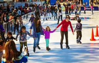 HOUSTON: WIN a 5 Pack of Tickets to Discovery ICE - TWO WIN - ice rink in Downtown