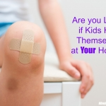 Are you Liable if Kids Hurt Themselves at Your House?