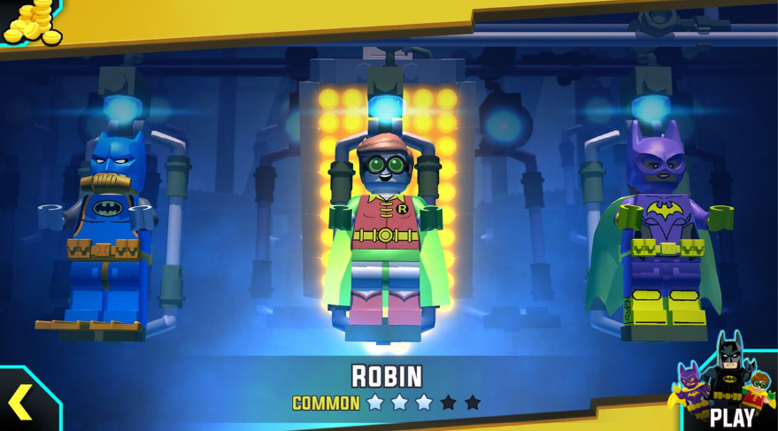 The Lego Batman app is awesome!