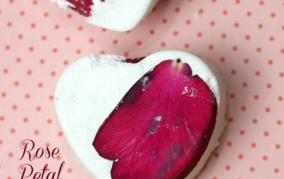 This Rose Petal Milk Bath Bomb Recipe is easy and fun