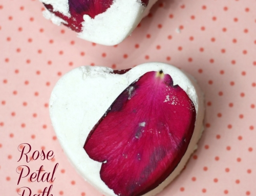 Rose Petal Milk Bath Bomb Recipe