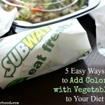 5 Easy Ways to Add Color with Vegetables to Your Diet