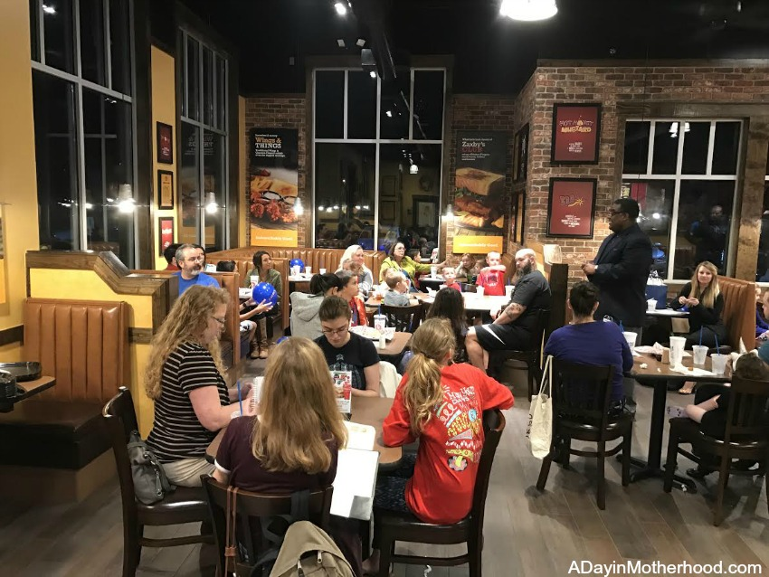 Zaxby's Restaurant has a fun atmosphere!