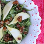 Pear and Date Salad Recipe that Dresses up Any Dinner
