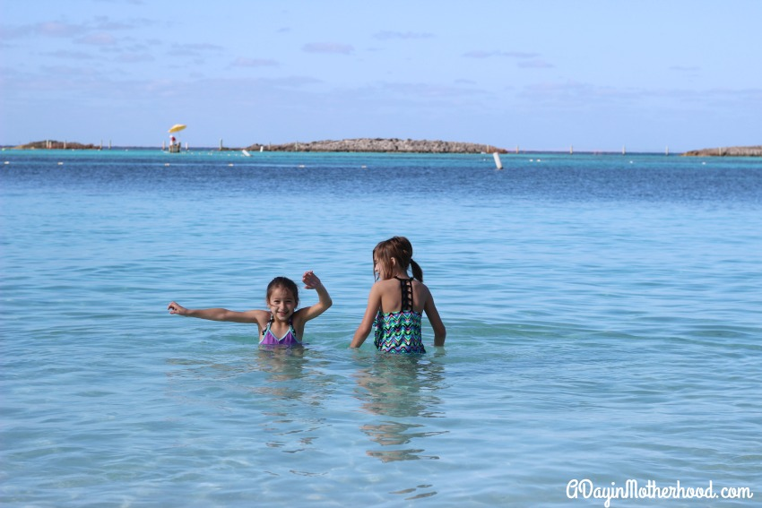 The kids will never forget their day on Castaway Cay