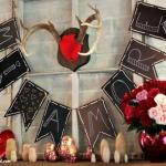 Easy DIY Valentine Mantle Sign