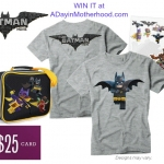 WIN a LEGO Batman Movie Prize Pack