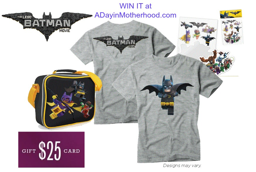 Win a the LEGO Batman movie prize