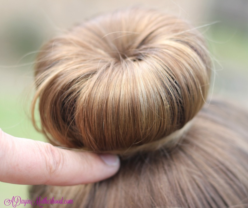 Make the hair smooth with the Easy Princess Updo for Kids