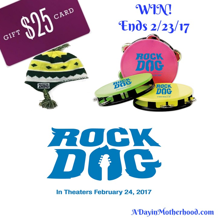 The Rock Dog giveaway is live now!