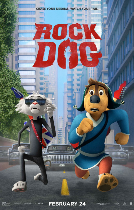 Win a Rock Dog Movie Prize Pack FREE Coloring Pages