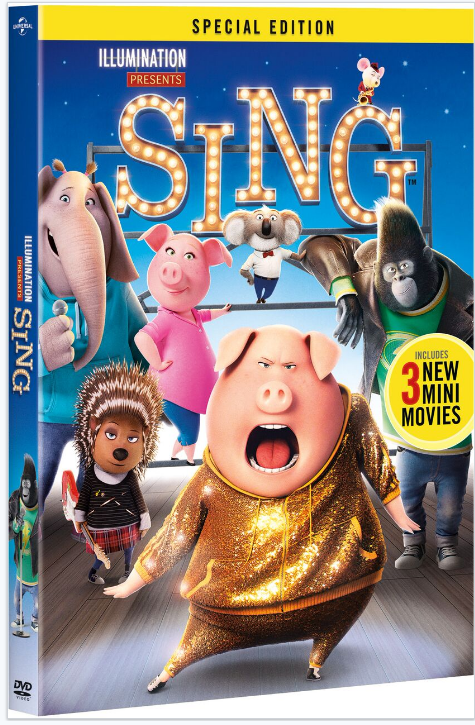 Get the SING Special Edition in March and get extras included!