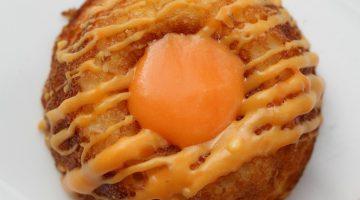 Mini Mango Cakes with Homemade Cream Cheese Icing